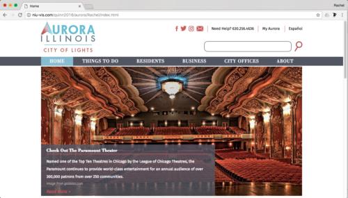 City of Aurora Website